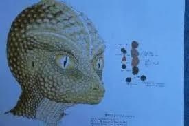 alien, reptilian