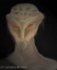 Tall grey alien