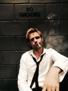 Constantine with cig